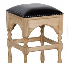 Blaine Counter Stool, Elm and Leather GSTOOL138S