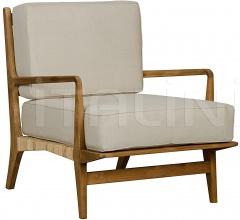 QS Allister Chair, Teak and Rattan SOF202T