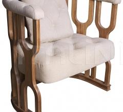 Octopus Club Chair, Dark Walnut SOF222DW