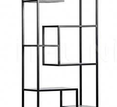 Haru Bookcase, Large, Metal and Quartz GBCS151MT-L