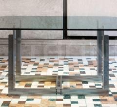 Итальянские столы обеденные - Стол обеденный SARPI фабрика Cassina