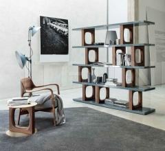 Итальянские стеллажи - Книжный стеллаж Dalida фабрика Porada
