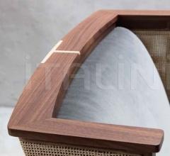 Кресло Liala bergere straw фабрика Porada