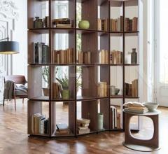 Итальянские стеллажи - Книжный стеллаж Demetra фабрика Porada