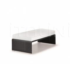Итальянские пуфы - Пуф Slim Line Footstool фабрика Dedon