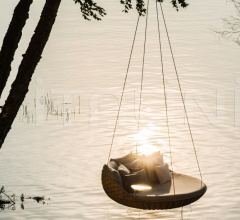 Диван Swingrest Hanging lounger фабрика Dedon