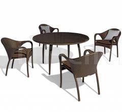 Стол обеденный Tango Dining table фабрика Dedon