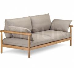 Двухместный диван Tibbo фабрика Dedon
