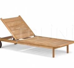 Итальянские шезлонги - Шезлонг Tibbo Beach Chair фабрика Dedon