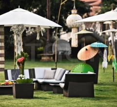 Итальянские аксессуары для интерьера - Зонт Parasol Square фабрика Dedon