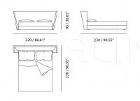 Кровать Plaza Meritalia