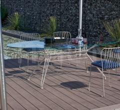 Итальянские уличные столы - Стол обеденный SANDER OUTDOOR фабрика Bontempi Casa