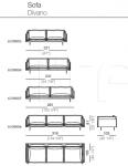 Модульный диван Auto-Reverse Arketipo