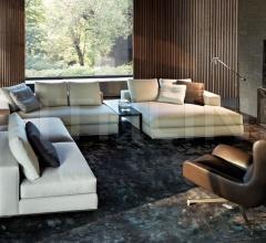 Модульный диван Hamilton фабрика Minotti