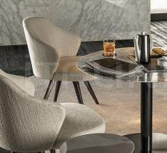 Итальянские стулья, табуреты - Стул Leslie Lounge фабрика Minotti