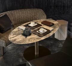Итальянские рестораны/бары - Барный стол Bellagio Lounge Bronze фабрика Minotti