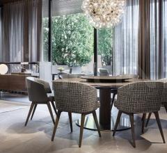 """Стол обеденный Bellagio """"Dining"""" Wood фабрика Minotti"""