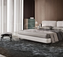 Кровать Tatlin-Cover фабрика Minotti