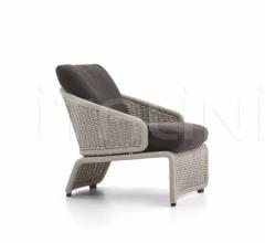 Итальянские уличные кресла - Кресло Halley Outdoor фабрика Minotti