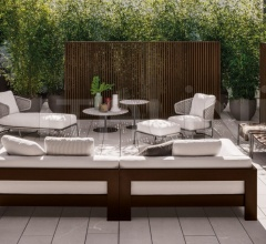 Кресло Aston Cord Outdoor фабрика Minotti