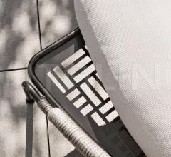 Итальянские шезлонги - Шезлонг Aston Cord Outdoor фабрика Minotti