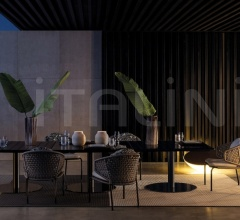 Итальянские стулья - Стул Aston Cord Lounge Outdoor Chair фабрика Minotti