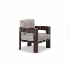 Итальянские уличные кресла - Кресло Warhol Dark Brown Outdoor фабрика Minotti