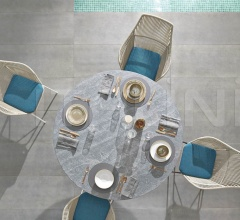 Итальянские столы - Стол обеденный Van Dyck Outdoor фабрика Minotti