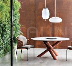 Итальянские уличные столы - Стол обеденный Van Dyck Outdoor фабрика Minotti