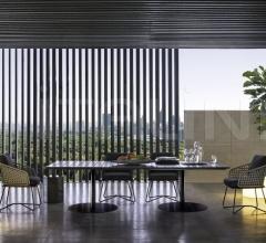 Итальянские столы - Стол обеденный Bellagio Dining Outdoor фабрика Minotti