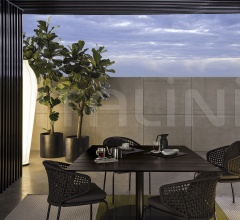 Итальянские уличные столы - Стол обеденный Bellagio Dining Outdoor фабрика Minotti