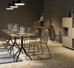 Итальянские барные столы - Барный стол OTX 887/TAQ фабрика Potocco