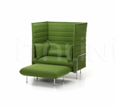 Диван Alcove Xtra High Sofa фабрика Vitra