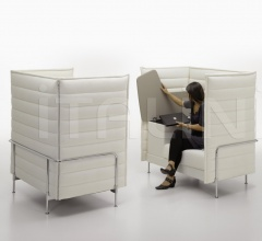 Диван Alcove Highback Work фабрика Vitra
