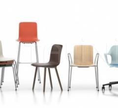 Барный стул HAL Ply Barstool фабрика Vitra