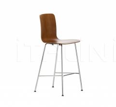 Барный стул HAL Ply Stool Medium фабрика Vitra