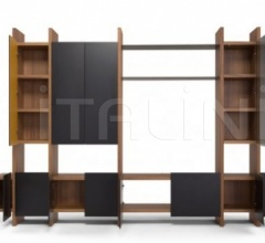 Книжный стеллаж SISTEMA PARERE фабрика Amura