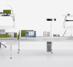 Письменный стол Ad Hoc 200 x 80 cm фабрика Vitra