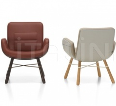Кресло East River Chair Leather фабрика Vitra