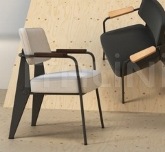 Кресло Fauteuil Direction фабрика Vitra