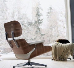 Кресло Lounge Chair & Ottoman фабрика Vitra
