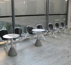 Итальянские скамейки - Система сидений Chair_One Public Seating System 1 фабрика Magis