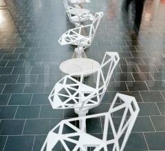 Итальянские скамейки - Система сидений Chair_One Public Seating System 2 фабрика Magis