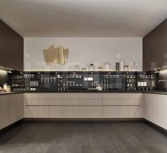Итальянские угловые кухни - Кухня Alea фабрика Varenna Poliform