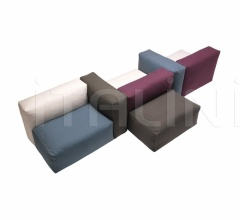 Модульный диван Oblong System фабрика Cappellini