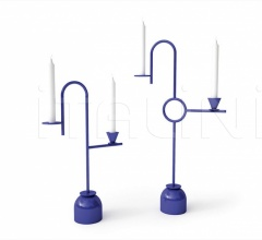 Итальянские подсвечники - Подсвечник Blue Candleholders фабрика Cappellini