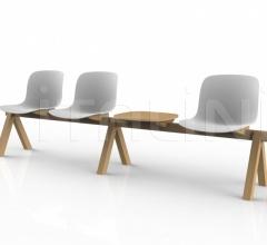 Итальянские скамейки - Система сидений Troy фабрика Magis