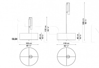 Подвесной светильник Leukon Maxalto (B&B Italia)
