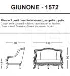 Трехместный диван Giunone Tonin Casa