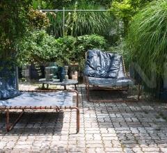 Итальянские уличные кресла - Лежак RIMINI фабрика Baxter